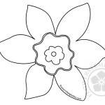 Cutting Spring Shapes Daffodil
