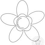 Daisy Flower Stencil Images