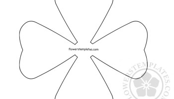 printable two roses outline flowers templates