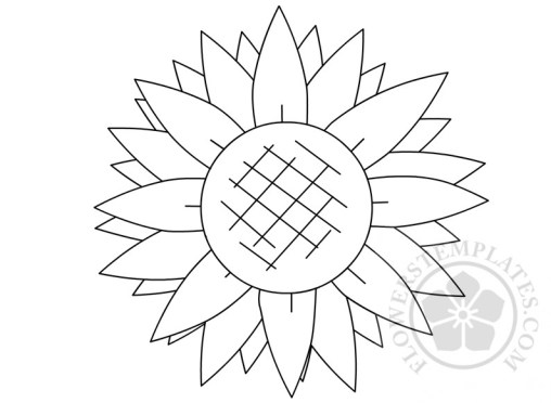 Sunflower Flowers Templates