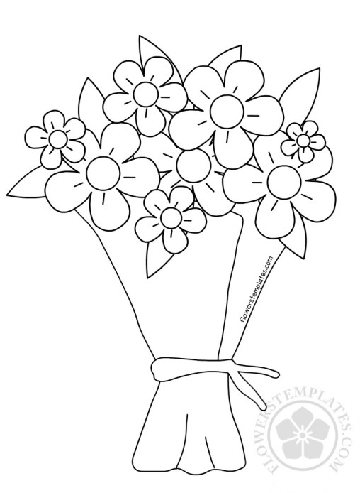 Daisy Flowers Templates