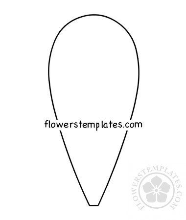 graphic about Daisy Printable called Substantial Daisy petal template printable Bouquets Templates