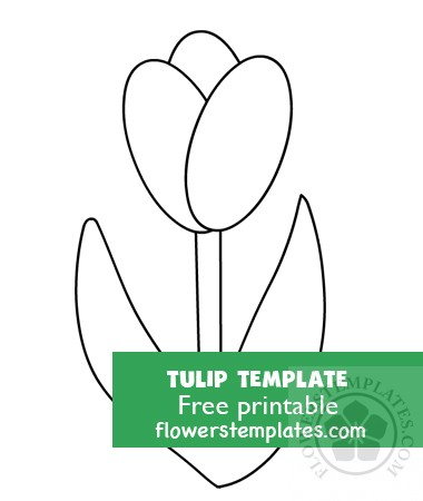 image about Tulip Pattern Printable called Bouquets Templates Totally free templates, styles, routine and