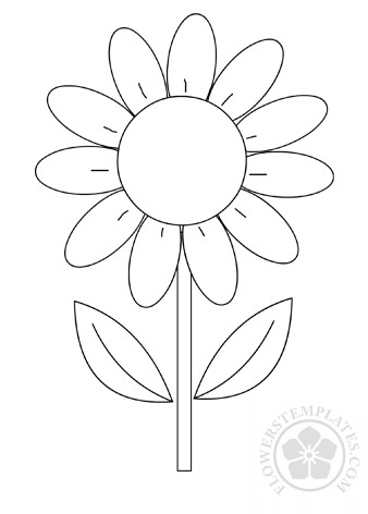 graphic regarding Flower Printable identified as Daisy Bouquets Templates