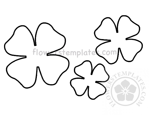 This is a graphic of Printable Flower Petal pertaining to pinterest