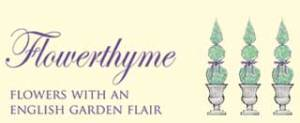 flowerthyme florist south county ri logoflowerthyme florist south county ri logo