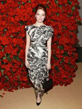 "Actress Emma Stone attends the Museum of Modern Art's 4th Annual Film benefit ""A Tribute to Pedro Almodovar"" at the Museum of Modern Art on November 15, 2011 in New York City. (Photo by Charles Eshelman/FilmMagic)"