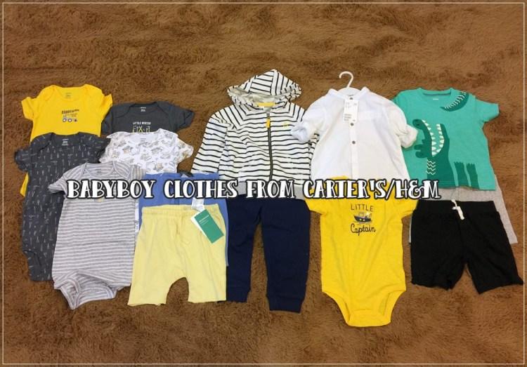 【旺財穿搭】Carter's/H&M的高CP值童裝們~(旺財的16M~2Y新衣服)