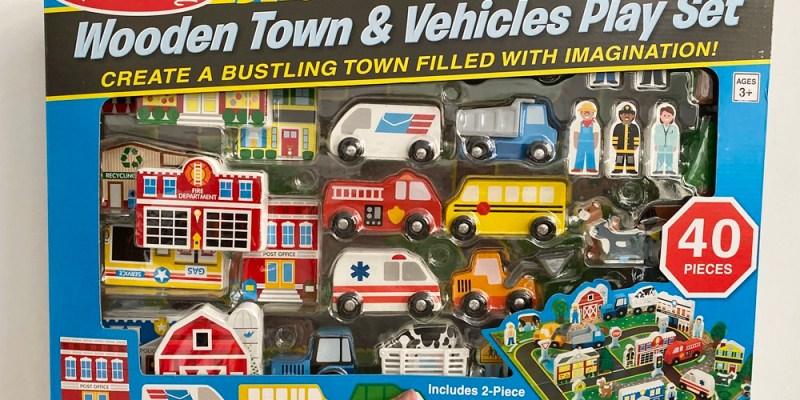 【COSTCO玩具開箱】美國Melissa & Doug道路交通遊戲組~40件才六百多無敵超值啊!