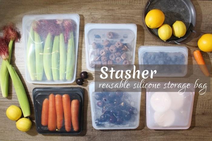 【減塑生活】stasher矽膠食物密封袋-強大的冰箱食材收納整理保鮮袋,可微波可舒肥可重複使用,給未來一個更好的地球