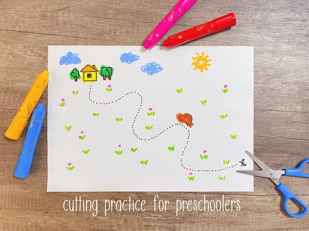 【育兒】免費兒童剪紙練習圖案下載整理~for學齡前兒童