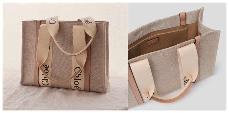 【來聊聊最近關注的美包Part7】Chloe Woody Tote帆布托特包~許願出beige色小包+揹帶夢幻組合!