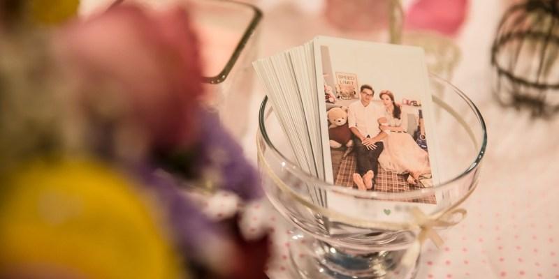 【大創xWedding】小資女孩的婚禮佈置Part2:冰淇淋杯變身小卡置物架