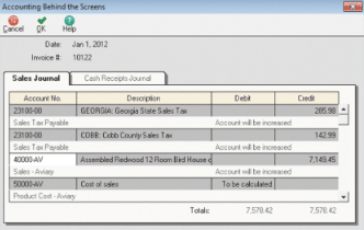 Sage Small Dashboard