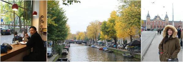 荷蘭,阿姆斯特丹轉機,快閃之旅,哇,多玩一國!〖2015-101〗