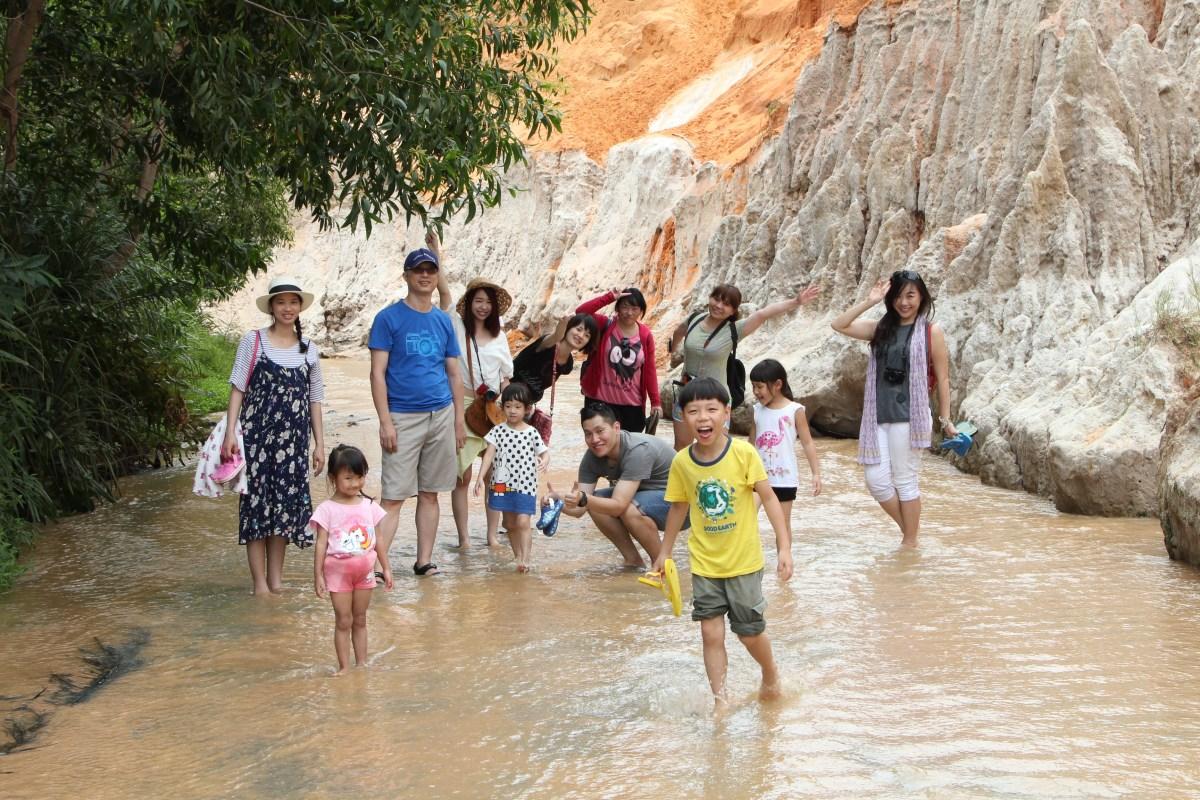 越南美奈Day2仙女溪(Fairy Stream),踏著溫柔細沙的溯溪之旅!