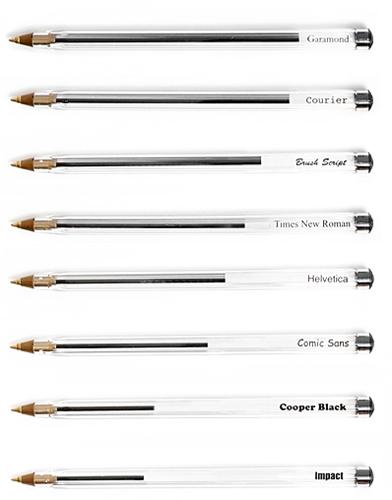 Save pens  Use Garamond font   FlowingData
