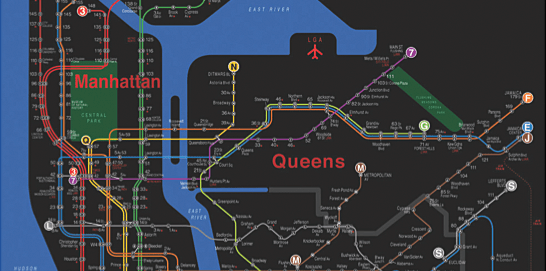 Designing An Easier To Read Nyc Subway Map Flowingdata