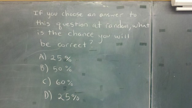 Best Math Question EVAR