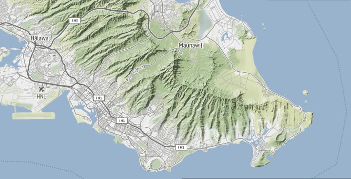 Global Terrain Maps From Stamen Flowingdata