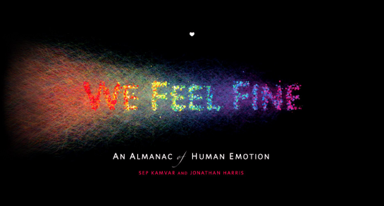 Review: We Feel Fine (the book) by Kamvar and Harris