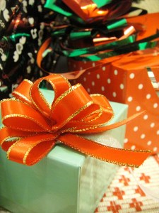 Christmas Gift Wrap byL'Amour Olivia via Flickr