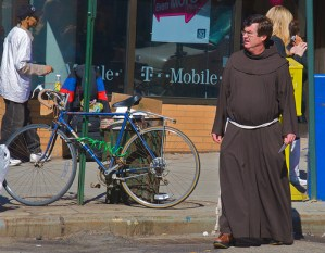 Dear Benedict XVI: I want to be free, and ride my bike into the sunset! by Ed Yourdon via Flickr