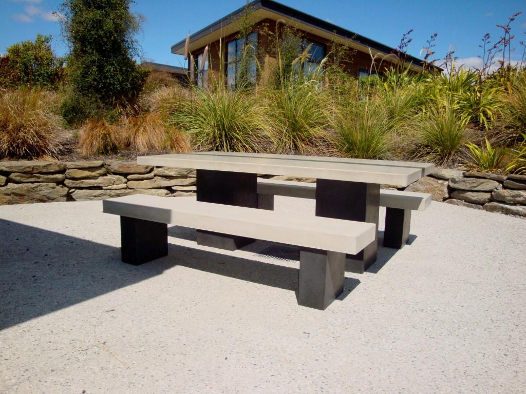 Flowing Stone Concrete Design