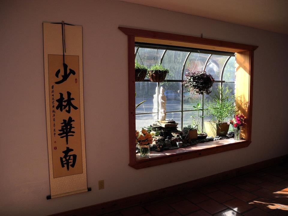 The beautiful bay windows in my former studio.