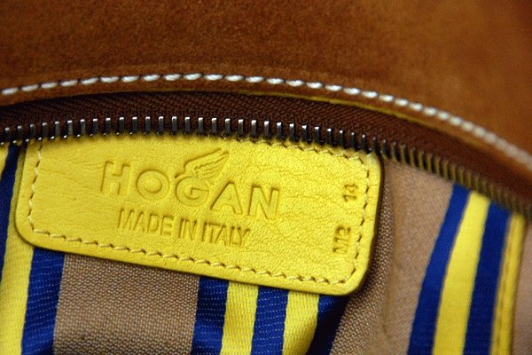 favorite yellow thing i own - my hogan bag