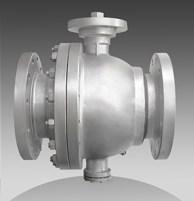 series 65 flanged trunnion ball valves