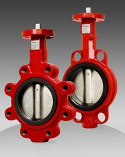 series 84/85 commercial resilient seated butterfly valve