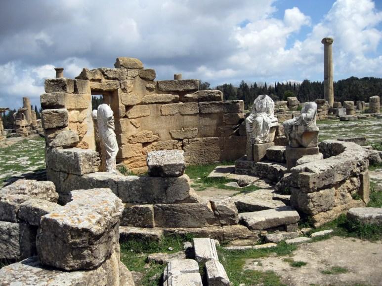 Libia Cirene Agora Templo Demeter 04