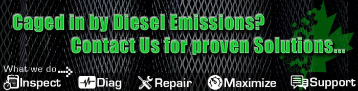 We are not just DPF Cleaning specialists, we are experts in Diesel Emissions solutions and support.