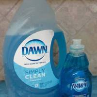 Original Blue Dawn ... It's not just for dishes anymore