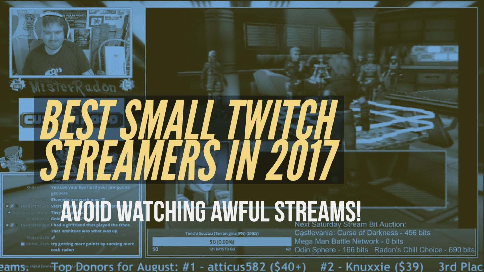 Best Small Twitch Streamers in 2017