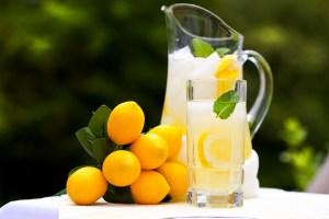 "As the old saying goes ""When life give you lemons.... make lemonade"""