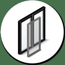 Custom window and door screens