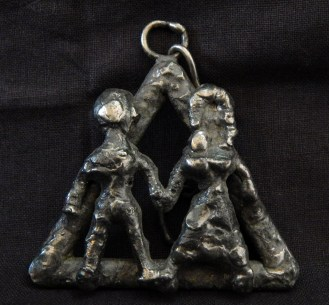 "Fertility? Marriage?-USA?-??-Metal-2"" x 2 1/4"""