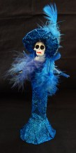 Catrina figurine (concept originally created by Mexican artist José Guadalupe Posada)