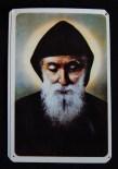 "Blessings and protection-Mexico/Lebanon-Roman Catholic-Laminated card-3 1/2"" x 2 1/2"""