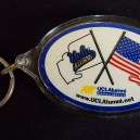 Souvenir-USA-American/Collegiate/Pop culture-Plastic and metal-2 1/2""