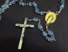 Rosary (close-up of crucifix and Mary)