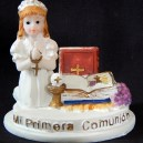 Female First Holy Communion (table decoration)