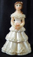 Figurine of Quinceañera (15 year old girl)