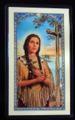 Prayer Card for Kateri Tekakwitha