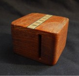 Handmade wooden inlaid small box