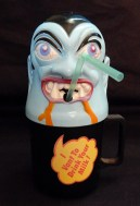 Dracula Cup with straw