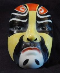 Miniature traditional opera mask