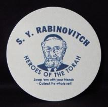 Famous Orthodox Rabbi, S. Y. Rabinovitch